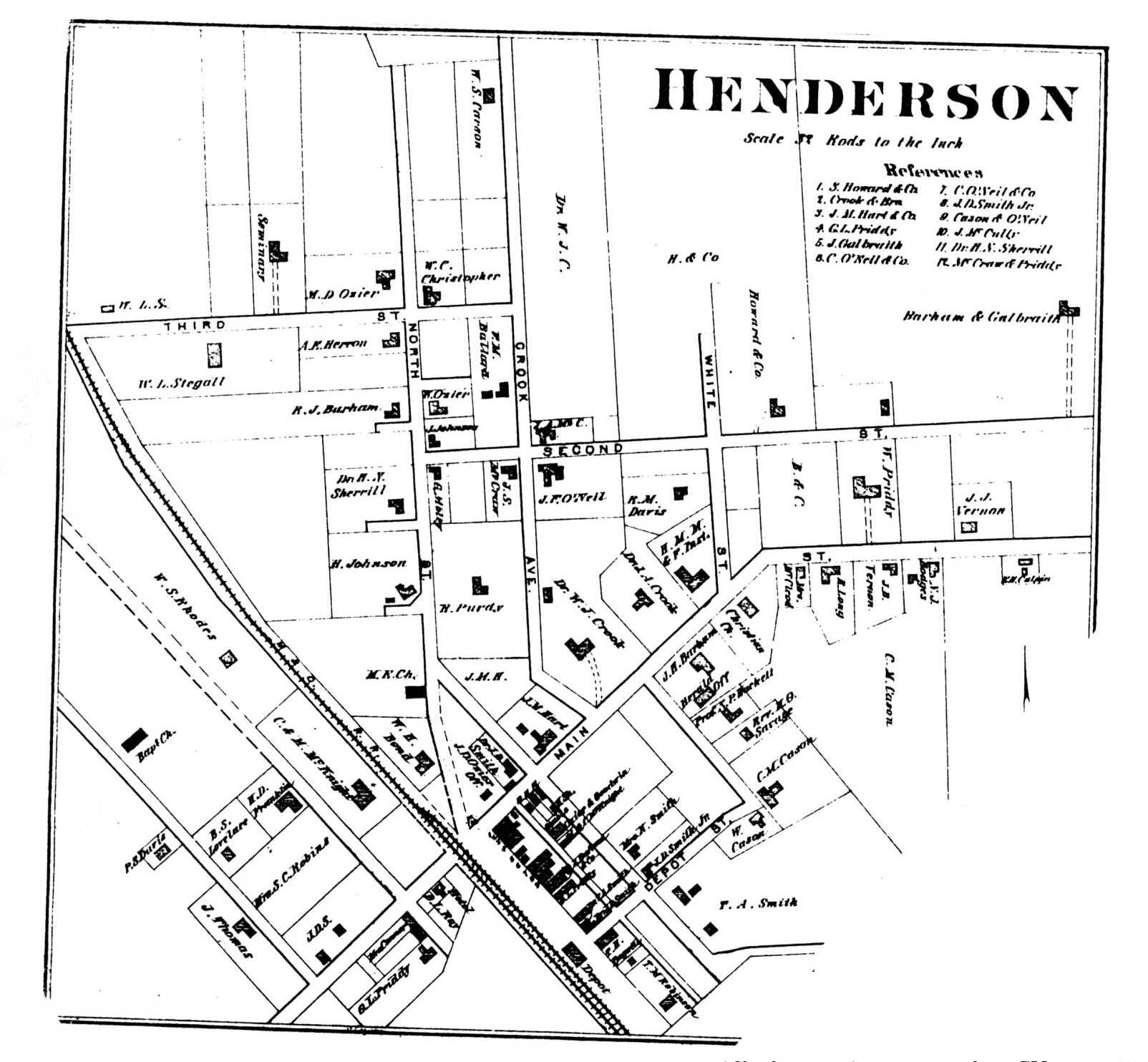 Henderson Tennessee Map.Yesterday S Chester County